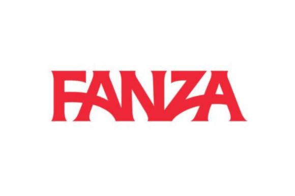 FANZAのロゴ画像