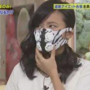 こじるりこと小島瑠璃子の呼吸をトレーニングマスクで呼吸を制御される