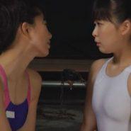 競泳用水着で緊縛猿轡調教をする姉妹レズビアンSM・ボンデージ