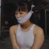 (レズビアンSM・ボンデージ)蓬莱かすみ×原美織。妹の口を猿轡で塞ぐ厳しい縄師の姉による姉妹レズ緊縛調教