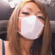 S女っぽい立体マスクギャルを浣腸とマスクフェラで陵辱エネマ調教!