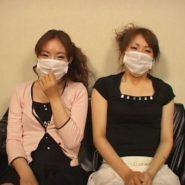 21歳の女子大生二人にマスクを着けさせ、浣腸でウンコを漏らしながらのマスクフェラチオ調教