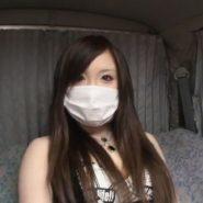 東北出身の色白モチ肌マスク美人の女子大生を浣腸&電マで陵辱調教プレイ