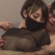 黒マスク・タイトマスクのセックス依存症の人妻とお風呂でNTR(寝取られ)不倫SEX
