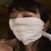 若林美保の鼻上被せ猿轡。拷問調教を受けるSMドキュメンタリーAV動画