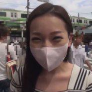 立体マスクをした韓国人マスク美女。デートのあと生ハメ中出し調教