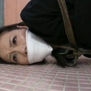 クロロホルムで眠らされ誘拐された姉。縛られ猿轡をされ声をだせない