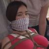 シネマジック・まるかつ監督:鼻上被せ猿轡でアナル浣腸をされ強制排泄スカトロプレイを受けるむっちり巨乳の人妻
