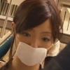 図書館内でガーゼマスクの美女を痴漢しレイプするAV動画