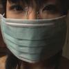 マスクの下に鼻フックを装着した美少女を連縛ボンデージ拘束