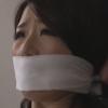 篠田あゆみの口に猿轡をして緊縛調教するSMの傑作動画