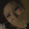 ガムテープ緊縛でぐるぐる巻きにされ口もテープギャグ猿轡され監禁レイプされる人妻のSM動画