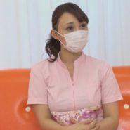 ケバいマスク美人な歯科助手