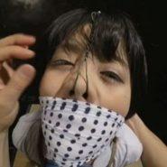 鼻フックで鼻の穴丸見えのメス豚に調教される制服JKの萌雨らめ