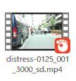 DUGAでダウンロードした猿轡マスクフェチ向けの動画Mp4ファイル