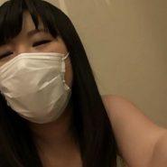 マスクをしたままセックスをハメ撮り動画で映す巨乳人妻