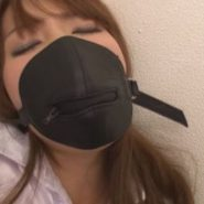 マスクを着けられクロロホルムを吸わされ気を失う監禁された波多野結衣