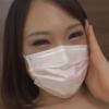 つり目の巨乳マスク美人とのハメ撮り動画AV