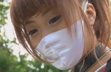 女のマスク忍者・くノ一のヒロイン