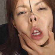 美女の鼻フックメス豚顔画像