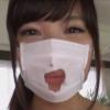早川瑞希のマスクフェチなエロ動画のワンシーン
