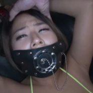 今井夏帆の猿轡・口枷のAV動画(開口マスク)