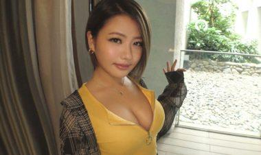 ショートカット巨乳黒ギャルAV女優の今井夏帆