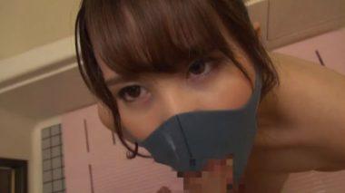 ピッタマスクをしたままフェラをするマスクフェラ