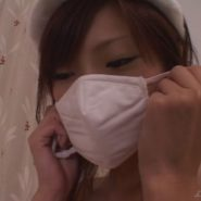 マスクフェチAV:布マスクを着ける美女
