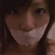 猿轡やマスクでセルフボンデージオナニーをする美女