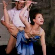 縛られ犯される美人な新体操部員