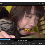 桜井千春がボールギャグをされながらレイプ