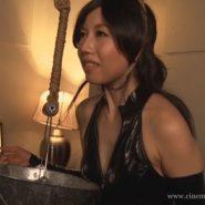 首吊りフェチ&首絞めフェチのSM動画