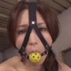 ハーネスボールギャグをした花野真衣を巨乳奴隷調教するAV動画