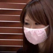 マスクの新商品モニターをさせられる素人のマスク美人