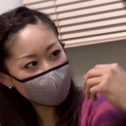 マスクフェチ動画のおしゃれな美人マスクモデル