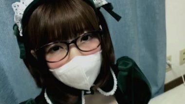 立体マスクとメガネのマスクメイド(佐倉絆)
