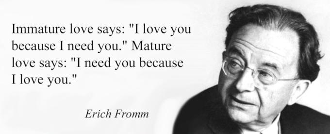 エーリッヒ・フロムの格言