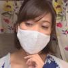 レースマスクをした熟女のマスクフェチ動画