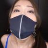 イラマスクお姉さん・佐伯由美香のイラマスク装着画像