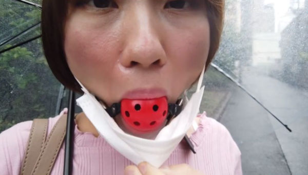 マスクの下に猿轡をしていた志田紗希