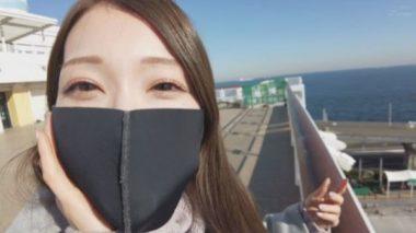 イラマスクを装着した佐伯由美香