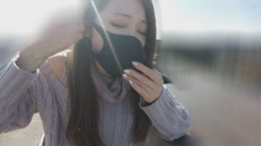 イラマスクを着け猿轡をする佐伯由美香