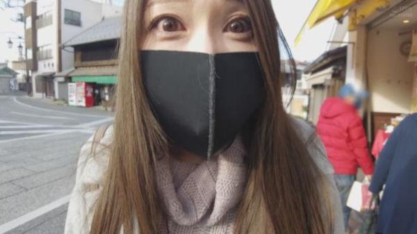 イラマスクをしながらお買い物をさせられる佐伯由美香