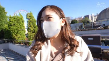ナンパされるマスク美人の沙耶(21)